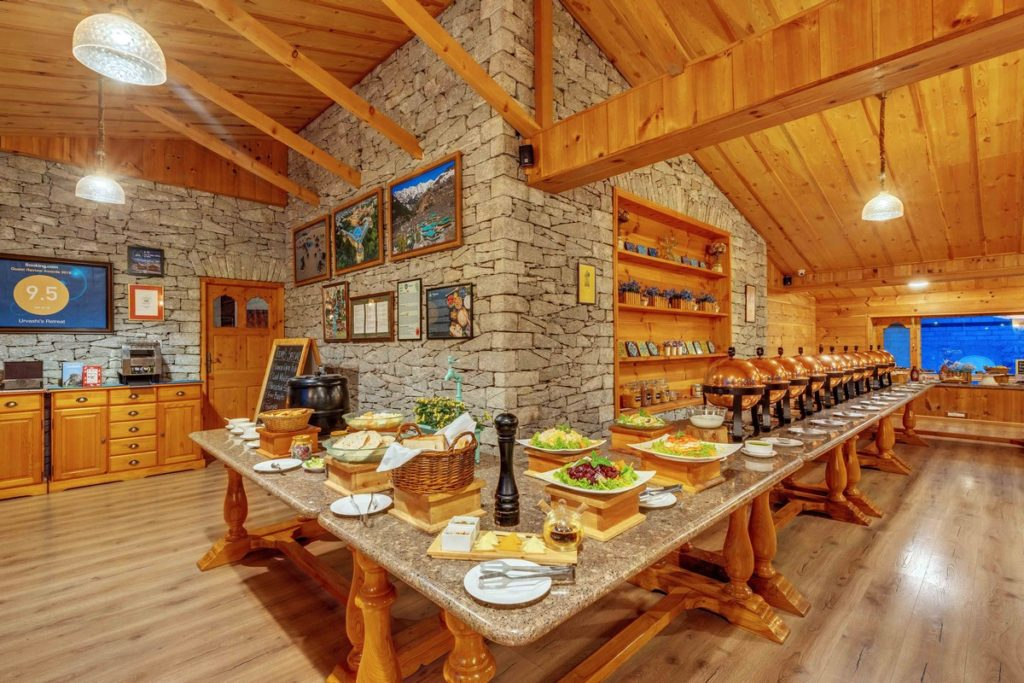 The Rohtang Pavilion Dining Room