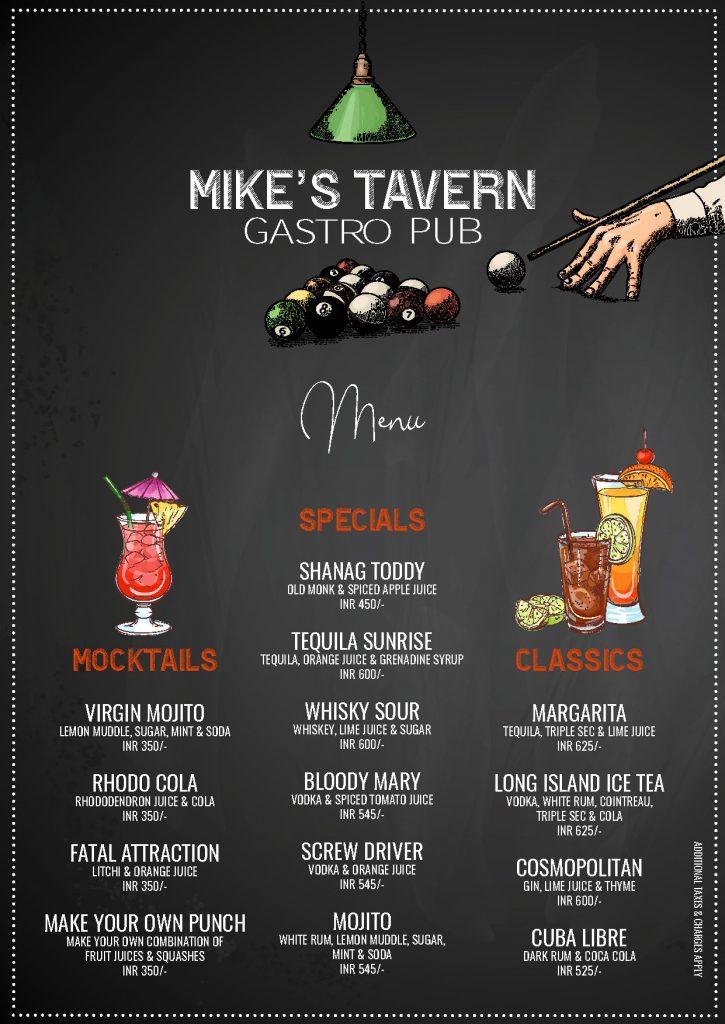 Mikes Tavern Gastro Pub